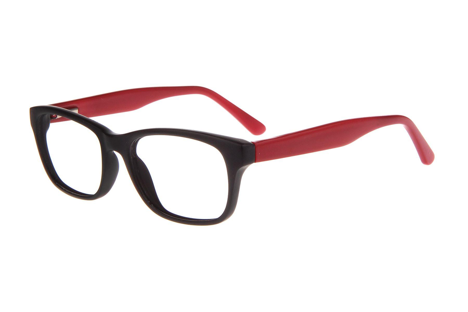 ec2346de4716 RUNWAY TWEEN 29 MATTE BLACK/RED - Visual Eyes Eyewear